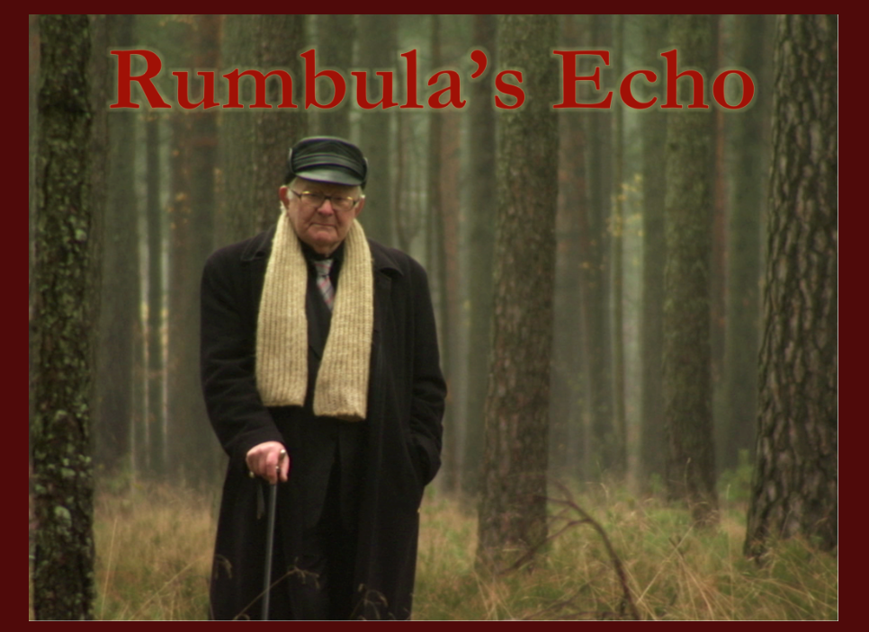 Rumbula's Echo web site home page.
